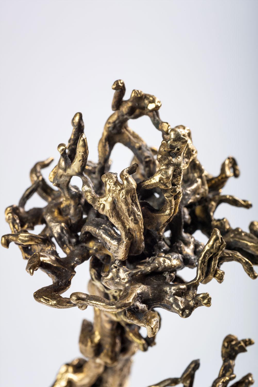 bougie maison objet bronze sculpture art intérieur architecture