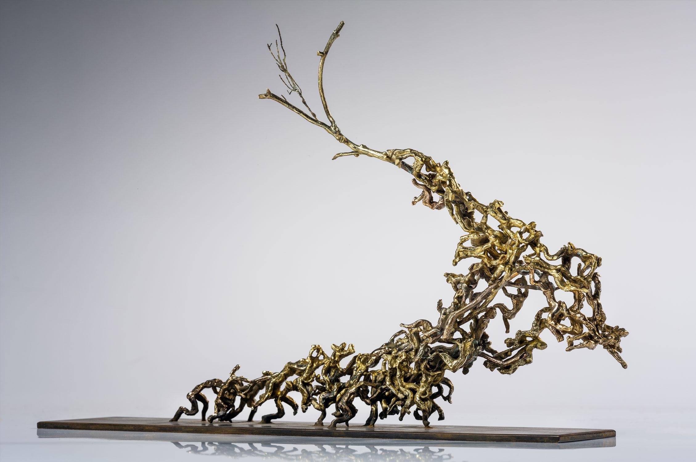 nature culture peuples bronze sculpture art écologie réchauffement climatique