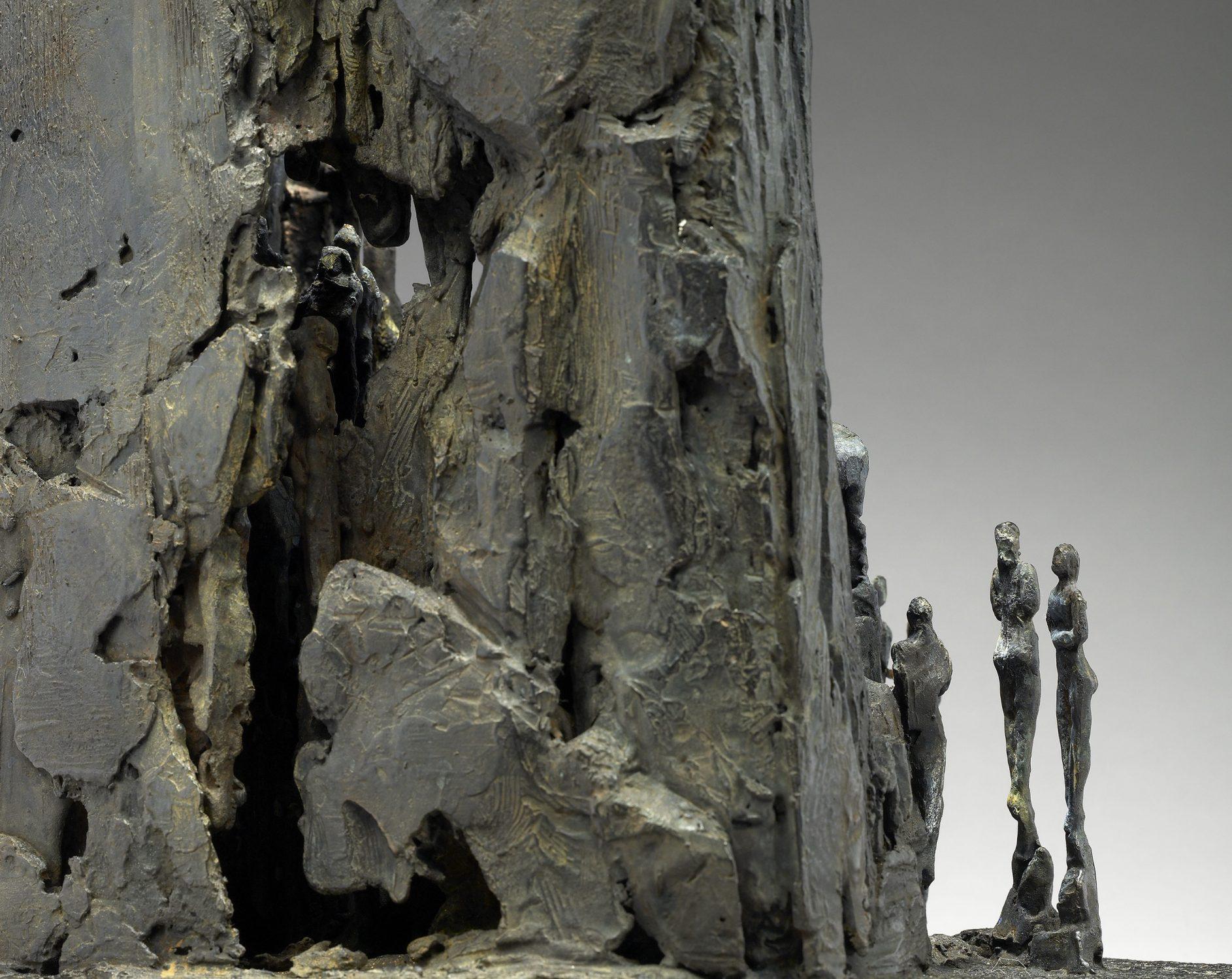 bibliothèque peuples histoire bronze sculpture art conte personnages