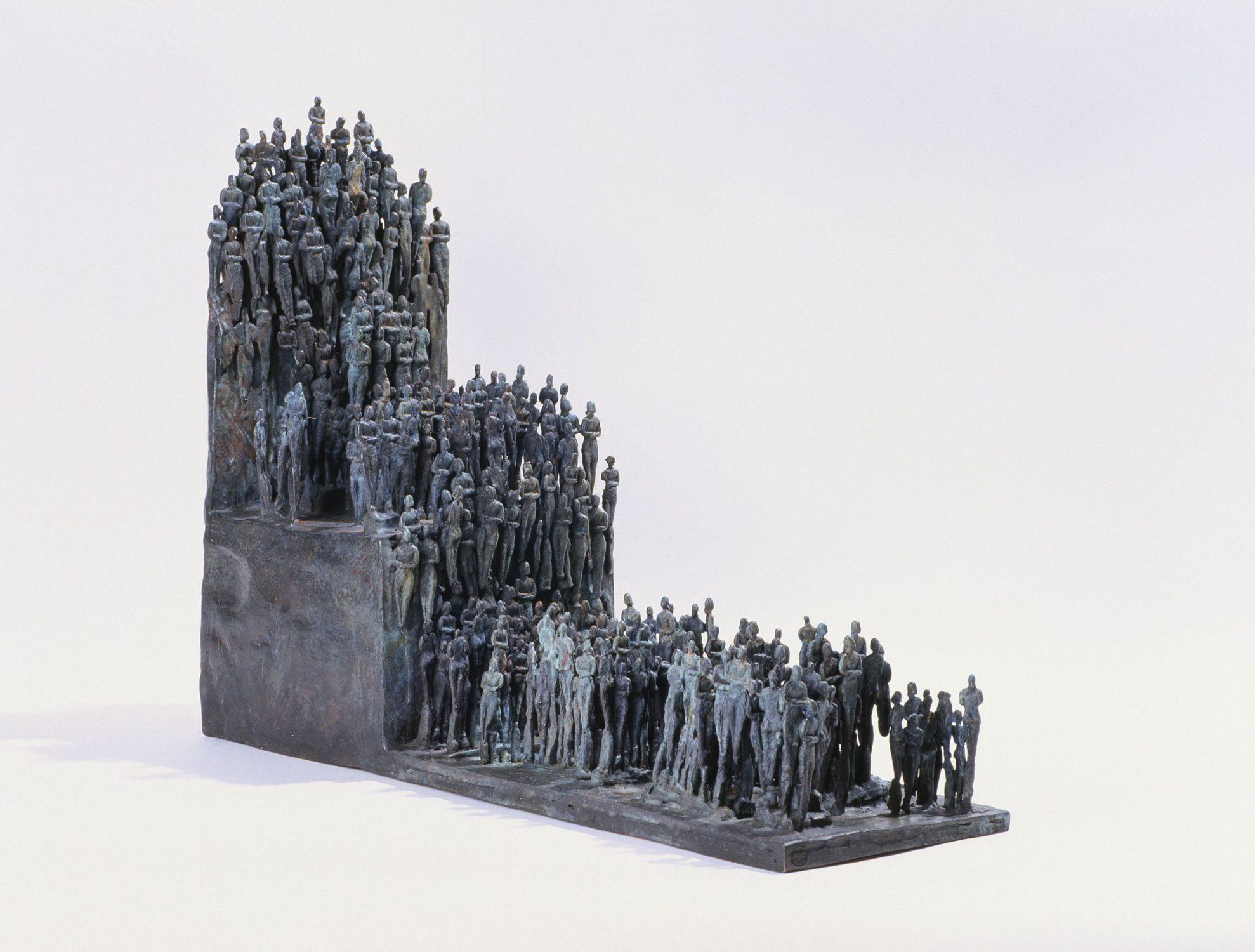 politique socle peuples bronze sculpture art gouvernement social